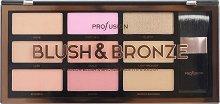 "Profusion Cosmetics Artistry Collection Blush & Bronze - Палитра с руж, бронзанти и четка от серията ""Artistry Collection"" -"