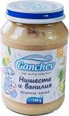 Ganchev - Млечна каша с нишесте и ванилия - Бурканче от 190 g за бебета над 4 месеца -