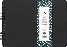 """Албум за снимки и скрапбукинг - Black - Формат A4 с 24 листа от серията """"Inspiration"""""""