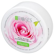 """Nature of Agiva Roses Nourishing Cream - Подхранващ крем за тяло от серията """"Roses"""" - крем"""
