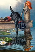 Рисуване по номера - Куче - Комплект за картина с размери 22 x 30 cm