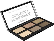 Profusion Cosmetics Highlight & Contour Palette - Палитра за контуриране на лице -