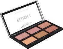 Profusion Cosmetics Blush Palette - Палитра с 6 цвята руж -