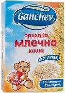 Ganchev - Инстантна оризово млечна каша - Опаковка от 200 g за бебета над 4 месеца - продукт