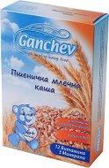Ganchev - Инстантна пшенична млечна каша - Опаковка от 200 g за бебета над 6 месеца -