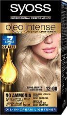 Syoss Oleo Intense Lightener - Изрусител за коса с платинена маска -