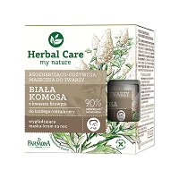 "Farmona Herbal Care White Quinoa Regenerating and Nourishing Face Cream-Mask - Нощна крем-маска за лице с бяла киноа от серията ""Herbal Care"" -"