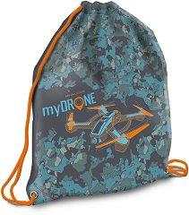 Спортна торба - My Drone - детска бутилка