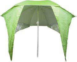 Плажен чадър с щитове
