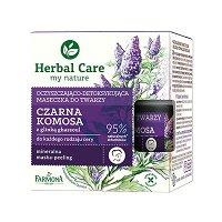 """Farmona Herbal Care Black Quinoa Cleansing-Detoxifying Face Mask - Детоксикираща маска за лице с черна киноа от серията """"Herbal Care"""" - гел"""