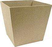 Фигура от папиемаше - Кутия за четки - Предмет за декориране с размери 10 / 10 / 9.5 cm