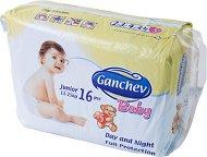 Ganchev Baby - Junior 5 - Пелени за еднократна употреба за бебета с тегло от 11 до 25 kg -