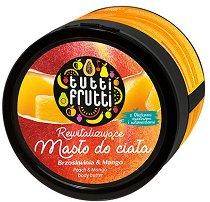 """Farmona Tutti Frutti Peach & Mango Body Butter - Масло за тяло с аромат на праскова и манго от серията """"Tutti Frutti Peach & Mango"""" -"""