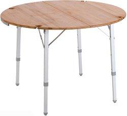Кръгла сгъваема къмпинг маса - Bamboo