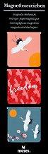 Магнитни разделители за книги - Freedom -