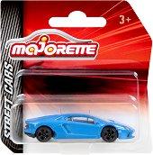"""Lamborghini Aventador - Метална количка от серията """"Street Cars"""" - играчка"""