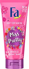 Fa Miss Pretty Shower Gel - Душ гел с флорален аромат - балсам
