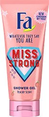 Fa Miss Strong Shower Gel - Душ гел с аромат на праскова -