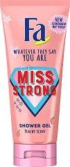 Fa Miss Strong Shower Gel - Душ гел с аромат на праскова - душ гел