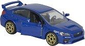"""Subaru WRX STI - Метална количка с отварящи се врати от серията """"Premium Cars"""" - количка"""