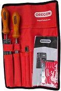 Инструменти за заточване на верижни триони - Комплект с чанта