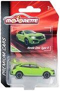 """Honda Civic Type R - Метална количка с отварящ се багажник от серията """"Premium Cars"""" - играчка"""