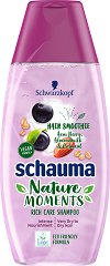 Schauma Nature Moments Hair Smoothie Intense Nourishment Shampoo - Подхранващ шампоан за суха и много суха коса - балсам