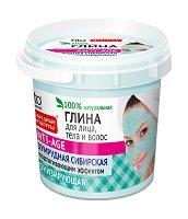 Сибирска глина за лице, коса и тяло - гел