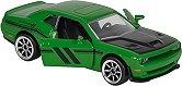 """Dodge Challenger SRT Hellcat - Метална количка с отварящи се врати от серията """"Racing Cars"""" - играчка"""