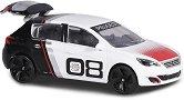 """Peugeot 308 Racing Cup - Метална количка с отварящ се багажник от серията """"Racing Cars"""" - играчка"""
