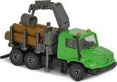 """Камион - Mercedes-Benz Zetros - Метална играчка от серията """"Farm"""" -"""