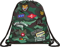 Спортна торба - Sprint: Camo Green Badges -