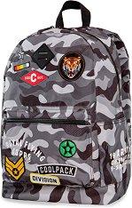 Ученическа раница - Cross: Camo Black Badges - несесер
