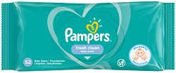 Pampers Fresh Clean Baby Wipes -