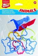 Формички и инсрументи за моделиране - Animals - Комплект от 10 броя