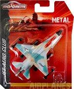 """Изтребител - Usaf 380 KM - Метална играчка от серията """"Jet Aero Club"""" -"""