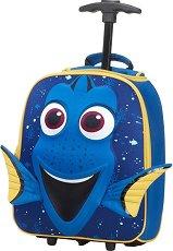 """Детски куфар на колелца - Дори - От серията """"Disney Ultimate"""" - раница"""