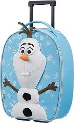 """Детски куфар на колелца - Олаф - От серията """"Disney Ultimate"""" - несесер"""