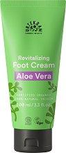 """Urtekram Aloe Vera Regenerating Foot Cream - Възстановяващ био крем за крака от серията """"Aloe Vera"""" -"""