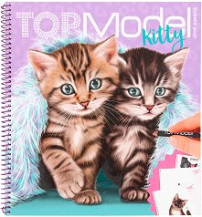 Топ модел: Коте + стикери -