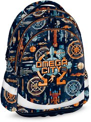 Ученическа раница - Omega City - несесер