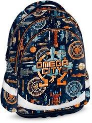 Ученическа раница - Omega City - раница