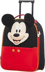 """Детски куфар на колелца - Мики Маус - От серията """"Disney Ultimate"""" -"""