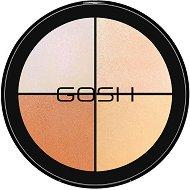 Gosh Strobe'n Glow Kit Highlight - Палитра за контуриране на лице 4 в 1 -