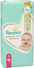 Pampers Premium Care 4 - Maxi - Пелени за еднократна употреба за бебета с тегло от 9 до 14 kg -