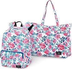 Раница и плажна чанта - Комплект за плаж