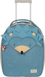 Детски куфар на колелца - Таралеж - продукт