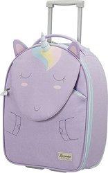 Детски куфар на колелца - Еднорогът Лили - продукт