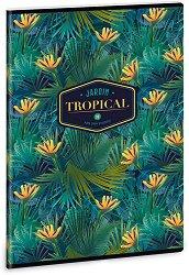 Ученическа тетрадка - Tropical Florida : Формат А4 с широки редове - 40 листа -