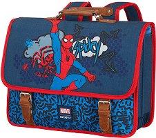 """Ученическа чанта за гръб - Спайдърмен - От серията """"Stylies Disney"""" - детски аксесоар"""